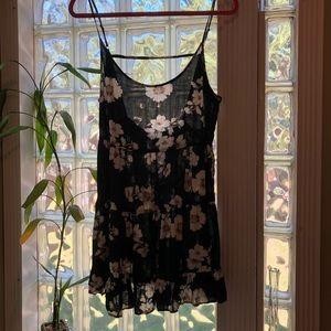 Brandy Melville floral Jada dress one size